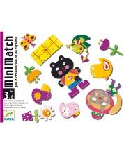 Детска игра с карти Djeco - MiniMatch