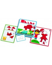 Детска образователна игра Djeco – Форми
