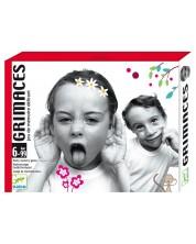 Детски карти за игра Djeco - Гримаси