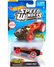 Количка Hot Wheels Speed Winders - Power Twist