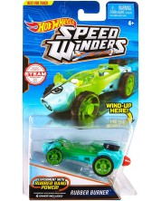 Количка Hot Wheels Speed Winders - Rubber Burner