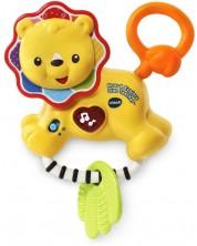 Бебешка дрънкалка Vtech - Лъвче -1
