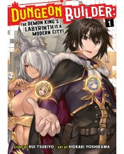 Dungeon Builder The Demon King's Labyrinth is a Modern City (Manga) Vol. 1 -1