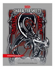 Dungeons & Dragons - Character Sheets 24бр -1
