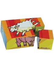 Детска игра Eichhorn - Малки дървени кубчета -1