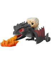 Фигура Funko Pop! Game of Thrones: Daenerys on Fiery Drogon 18 cm