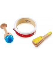 Детски музикални инструменти Hape - Дървени ударни инструменти, за начинаещи -1