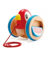 Дървена играчка за дърпане Hape - Пиленце -1