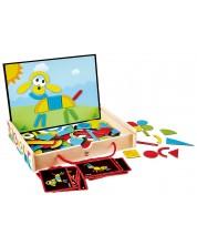 Детска игра Hape - Магнитна Арт кутия -1