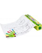 Ролка за оцветяване JOLLY с флумастери BOOSTER XL 6 цвята