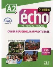 Echo A2: Cahier d'activites / Тетрадка по френски език за 8. - 12. клас (ниво A2) -1