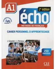 Echo A1: Cahier d'activites / Тетрадка по френски език за 8. - 12. клас (ниво A1) -1