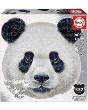 Пъзел Educa от 332 части - Лице на панда -1