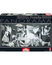 Панорамен пъзел Educa от 3000 части - Герника, Пабло Пикасо -1