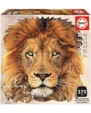 Пъзел Educa от 375 части - Лице на лъв -1