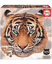 Пъзел Educa от 375 части - Лице на тигър -1