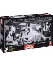 Пъзел Educa от 1000 части - Герника, Пабло Пикасо, миниатюра