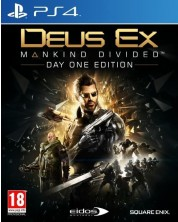 Deus Ex: Mankind Divided - Day 1 Edition (PS4) -1