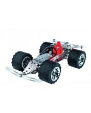 Метален конструктор Basic - Състезателен кола от Eitech -1