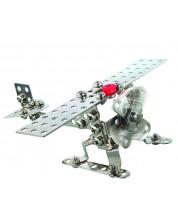 Метален конструктор Basic - Самолет/ Хеликоптер от Eitech