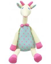 Плюшена играчка The Puppet Company Wilberry Linen - Елен, от лен, 35 cm