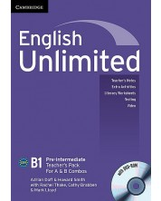 english-unlimited-pre-intermediate-a-and-b-teacher-s-pack-teacher-s-book-with-dvd-rom