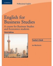 English for Business Studies Teacher's Book
