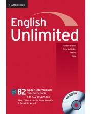 English Unlimited Upper Intermediate A and B Teacher's Pack (Teacher's Book with DVD-ROM)