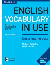 English Vocabulary in Use - Upper-Intermediate Book + eBook with audio (4th edition)