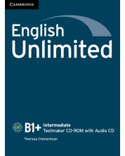 English Unlimited Intermediate Testmaker CD-ROM and Audio CD