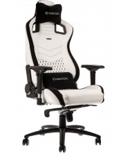 Гейминг стол noblechairs EPIC - бял/черен
