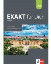 Exakt fur dich BG A2: Kursbuch / Немски език - 8. клас (интензивен) -1