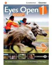 Eyes Open 1 Student's Book with Online Workbook and Online Practice: Английски език - ниво A1  (учебник с онлайн тетрадка и материали)