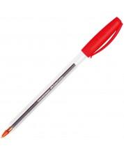 Химикалка Faber-Castell - 032 M, червена