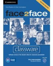 face2face Pre-intermediate Classware DVD-ROM