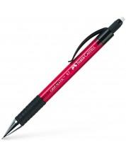 Автоматичен молив Faber-Castell - Grip Matic, 0.7 mm, червен
