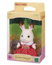 Фигурка за игра Sylvanian Families - Дъщеря заек, Chocolate