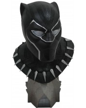Бюст Diamond Select Marvel - Black Panther, 25 cm