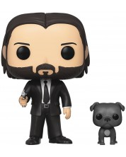 Фигура Funko Pop! Movies: John Wick - John Wick with Dog, #580