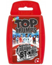 Игра с карти Top Trumps - World Football Stars