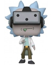 Фигура Funko POP! Animation: Rick and Morty - Gamer Rick (with VR) (Special Edition) #741