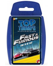 Игра с карти Top Trumps - Fast & Furious -1