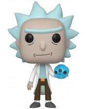 Фигура Funko Pop! Animation: Rick & Morty - Rick with Crystal Skull, #692 -1