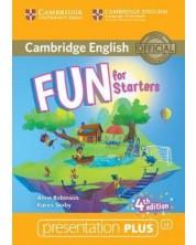 Fun for Starters: Presentation Plus - 4th edition (DVD-Rom) / Английски за деца: Презентации Плюс (DVD-Rom)