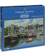Пъзел Gibsons от 1000 части - Пристанище Падстоу, Англия, Тери Харисън -1