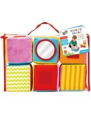 Бебешка играчка Galt - Сензорни кубчета -1