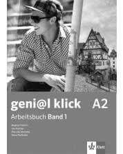 geni@l klick BG A2: Arbeitsbuch mit Audio CD Teil 1 / Работна тетрадка 1 по немски език със CD - 8. клас (интензивен) -1