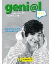 geni@l klick 2: Немски език - ниво А2 (учебна тетрадка + 2 CD) -1