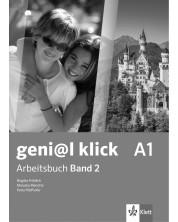 geni@l klick BG А1: Arbeitsbuch mit Audio CD Teil 1 / Работна тетрадка 2 по немски език със CD - 8. клас (интензивен) -1