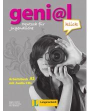 geni@l klick 1: Немски език - ниво А1 (учебна тетрадка + 2 CD) -1